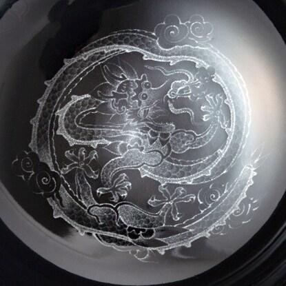 NITORI(ニトリ) ラーメン丼 銀彩龍 美濃焼の商品画像8