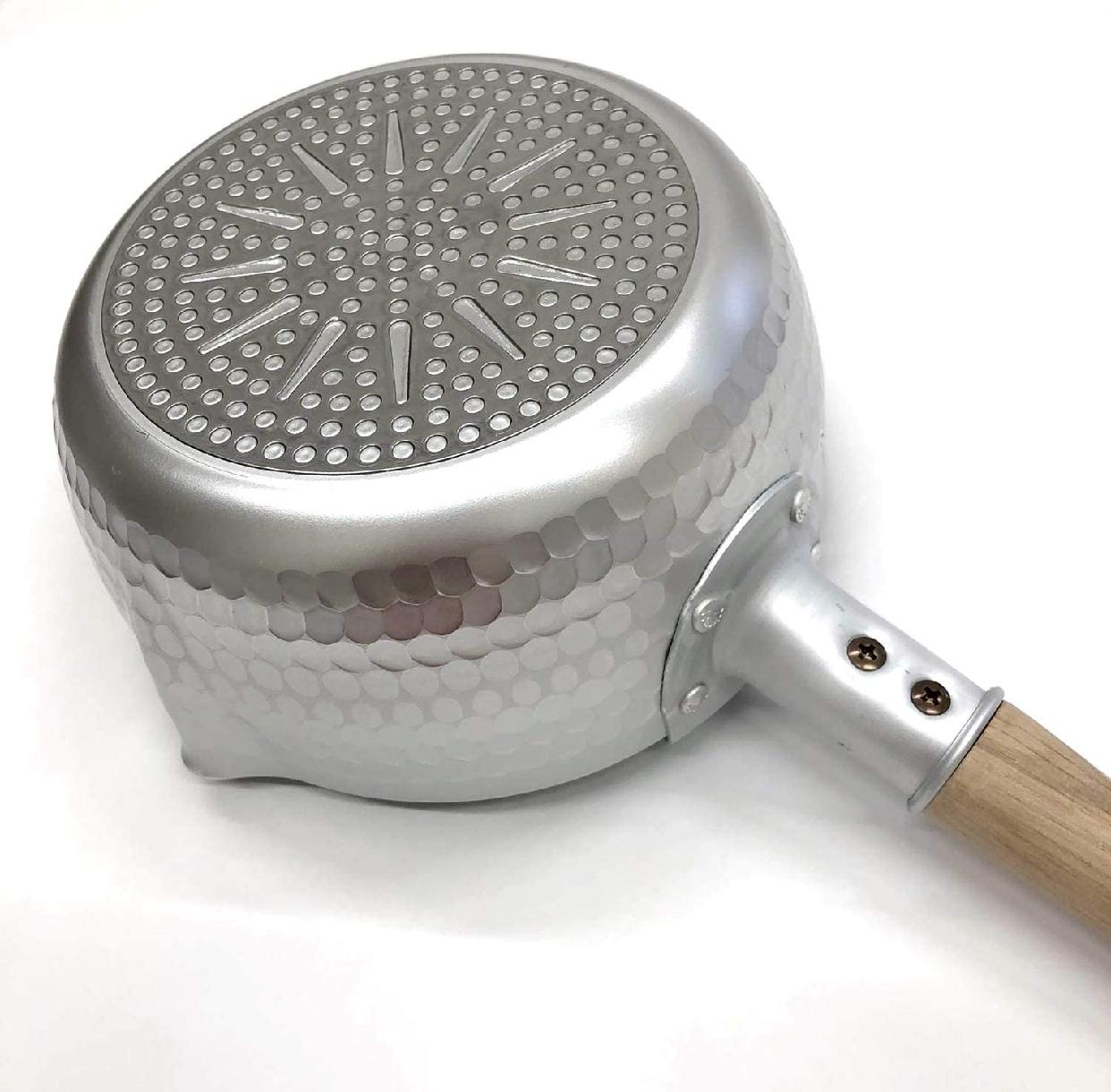 京都活具 ゆきひら鍋 20cm IH対応 シルバーの商品画像2