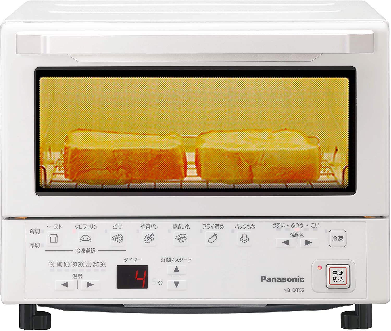 Panasonic(パナソニック) コンパクトオーブンNB-DT52の商品画像