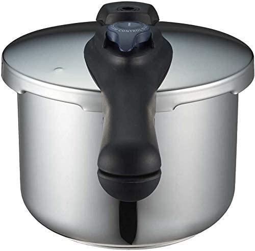 パール金属(PEARL) クイックエコ 3層底切り替え式圧力鍋 H-5041の商品画像7
