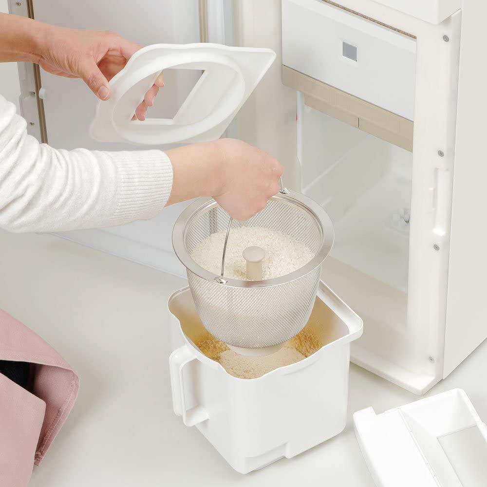 エムケー保冷精米機米冷え~る + mill NCP-10W ホワイトの商品画像3