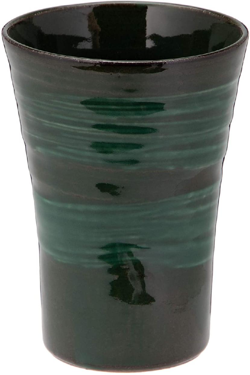 MINO CRAFT. 持ち易い焼酎カップ エメラルド K51148の商品画像