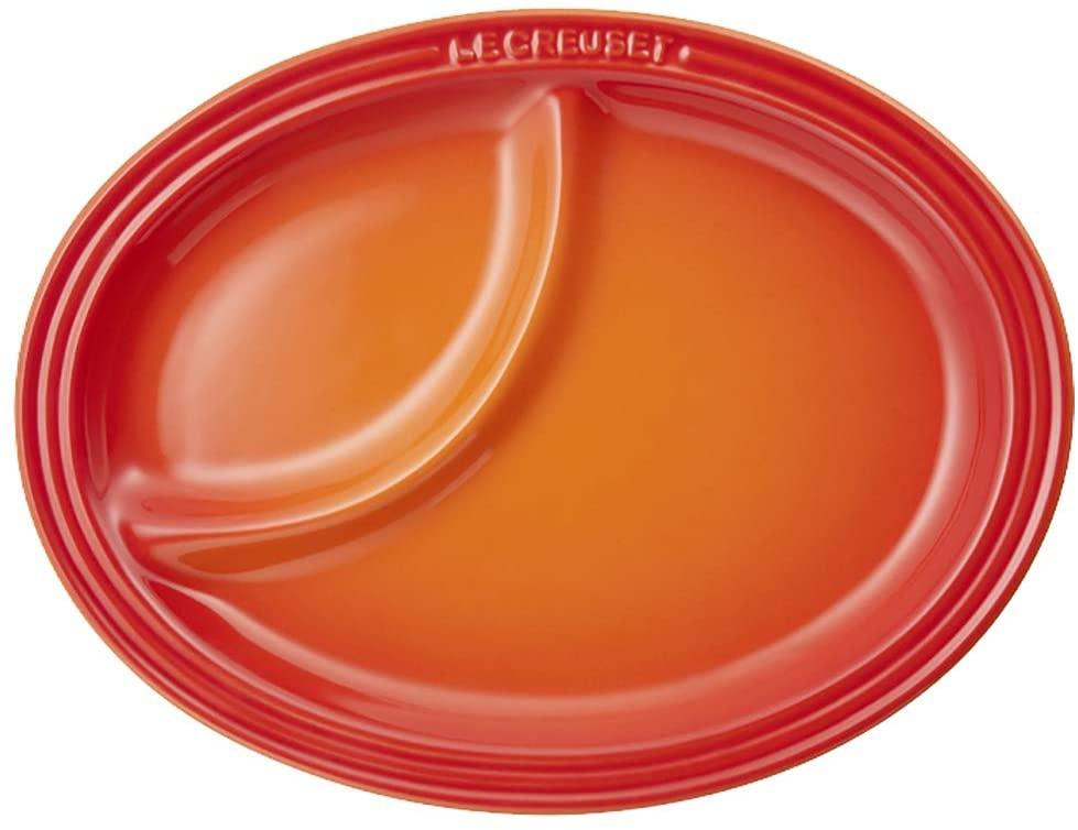 LE CREUSET(ル・クルーゼ) マルチ・オーバル・プレート (S)オレンジの商品画像2