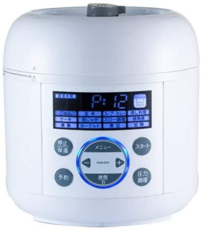 maxzen(マクスゼン)電気圧力鍋 PCE-MX301の商品画像
