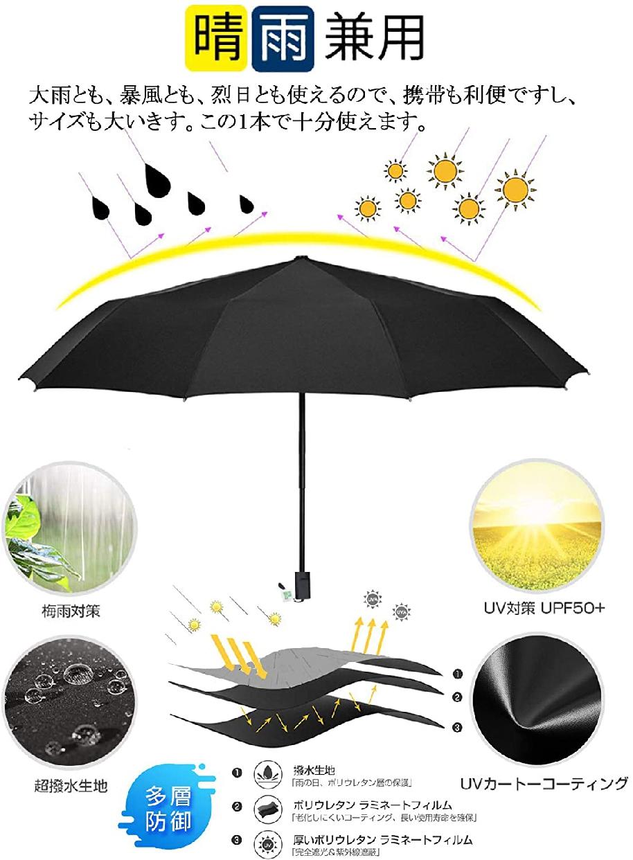 Anbella(アンベラ) 折りたたみ傘 日傘 メンズの商品画像2