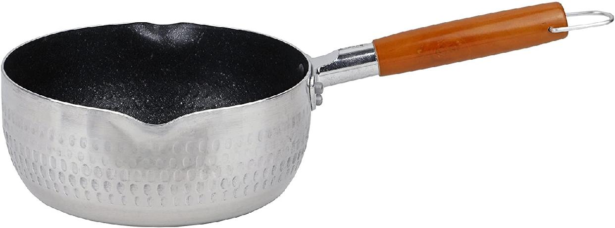 パール金属(PEARL) マーブルミラー アルミ行平鍋18cm  H-6451 シルバーの商品画像2