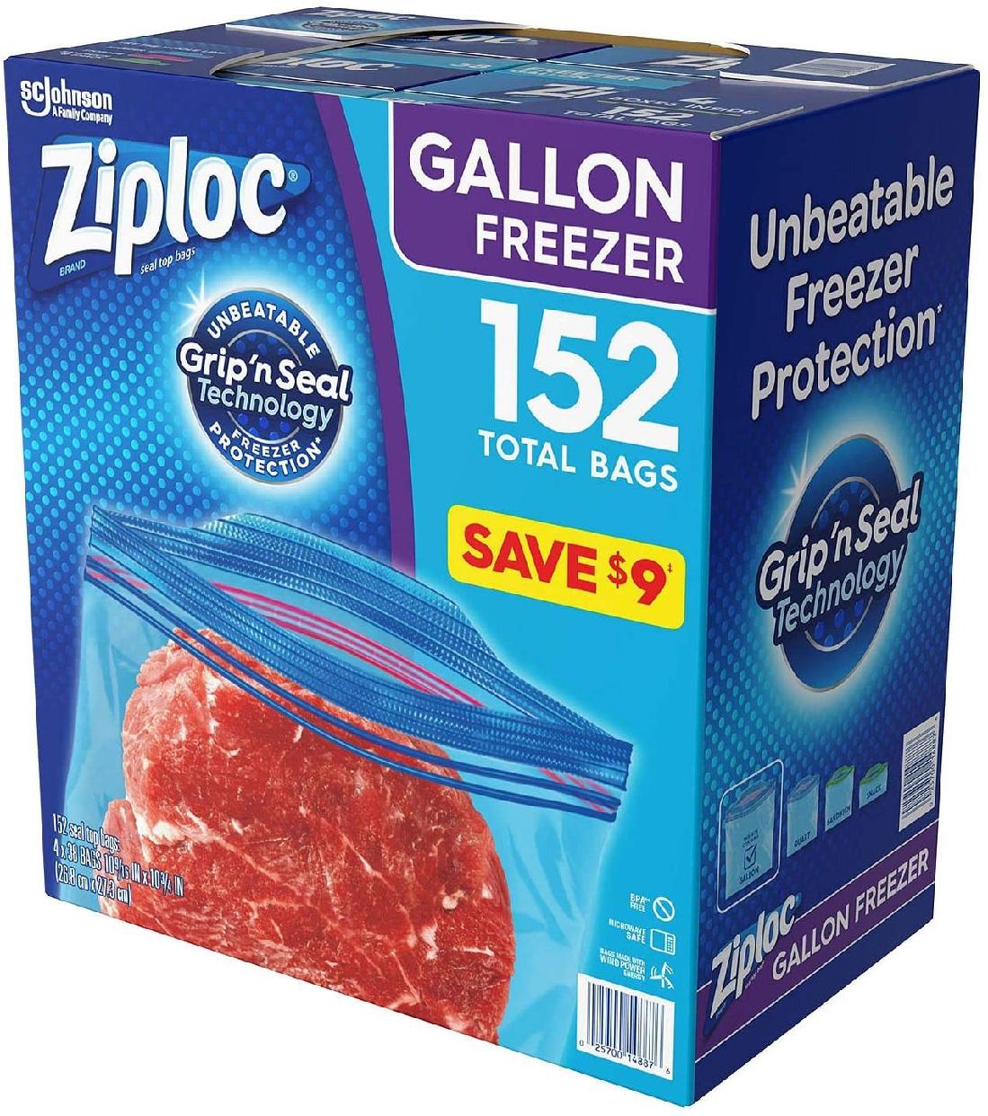 Ziploc(ジップロック) フリーザー ガロンサイズの商品画像4
