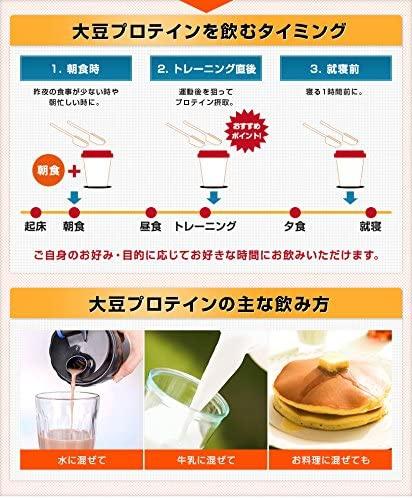 NICHIGA(ニチガ) 大豆プロテイン(アメリカ産)の商品画像8