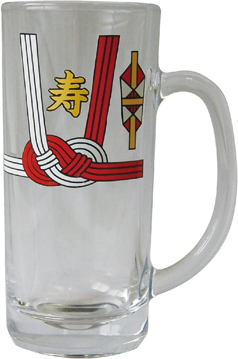 サンアート ご祝儀袋風 ビールグラス・ジョッキ 330cc SAN1991の商品画像