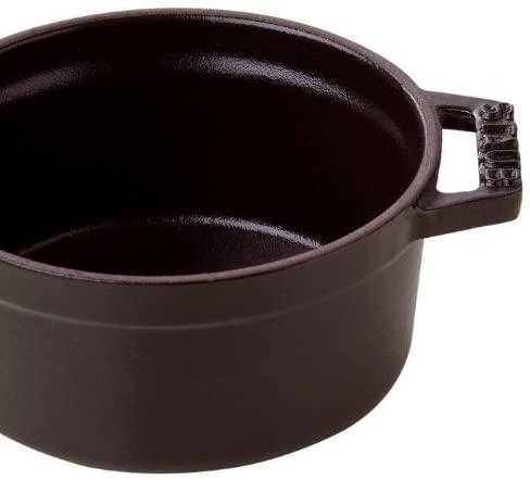 staub(ストウブ)ミニ ピコ ココット ラウンド ブラック 10cm 40500-101の商品画像5