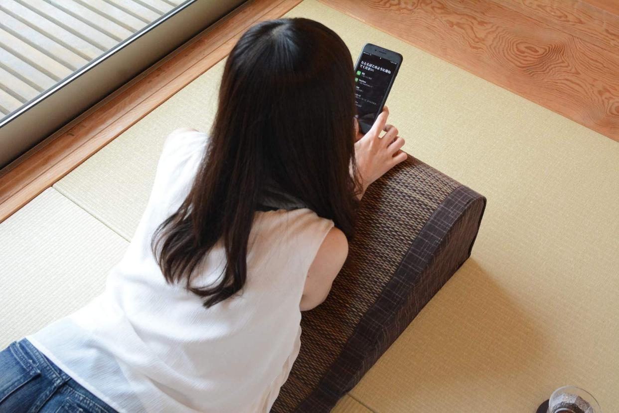 萩原(ハギハラ) い草 ポコポコTV枕 南風の商品画像2