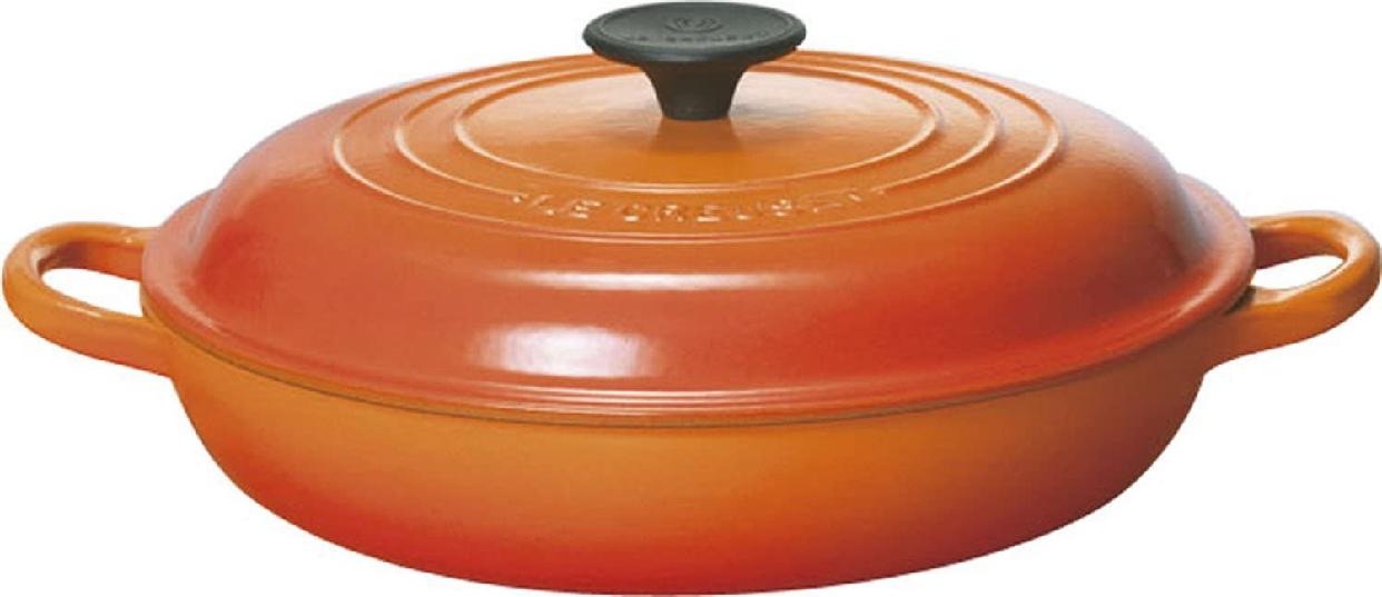 LE CREUSET(ル・クルーゼ) ビュッフェ・キャセロール 26cm オレンジの商品画像2