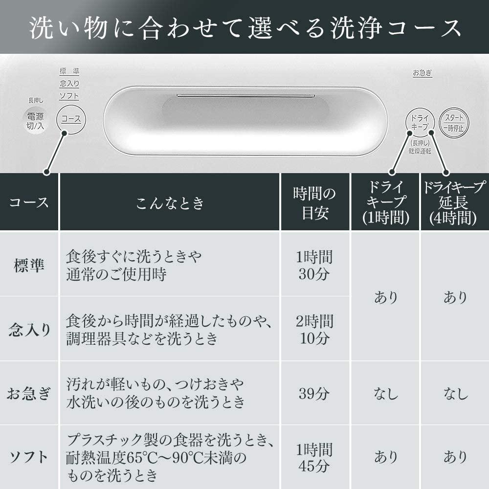IRIS OHYAMA(アイリスオーヤマ) 食器洗い乾燥機 ISHT-5000の商品画像5