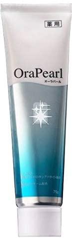 OraPearl(オーラパール)薬用 ホワイトニング 歯磨き粉の商品画像
