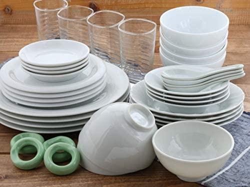 TABLE WARE EAST.(テーブルウェアイースト) 白い食器の福袋 豪華40点セット (アウトレット) ホワイトの商品画像