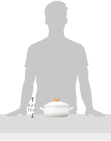 POCHKA(ポーチカ) キャセロール 20cm  ホワイト (POー20W)の商品画像3