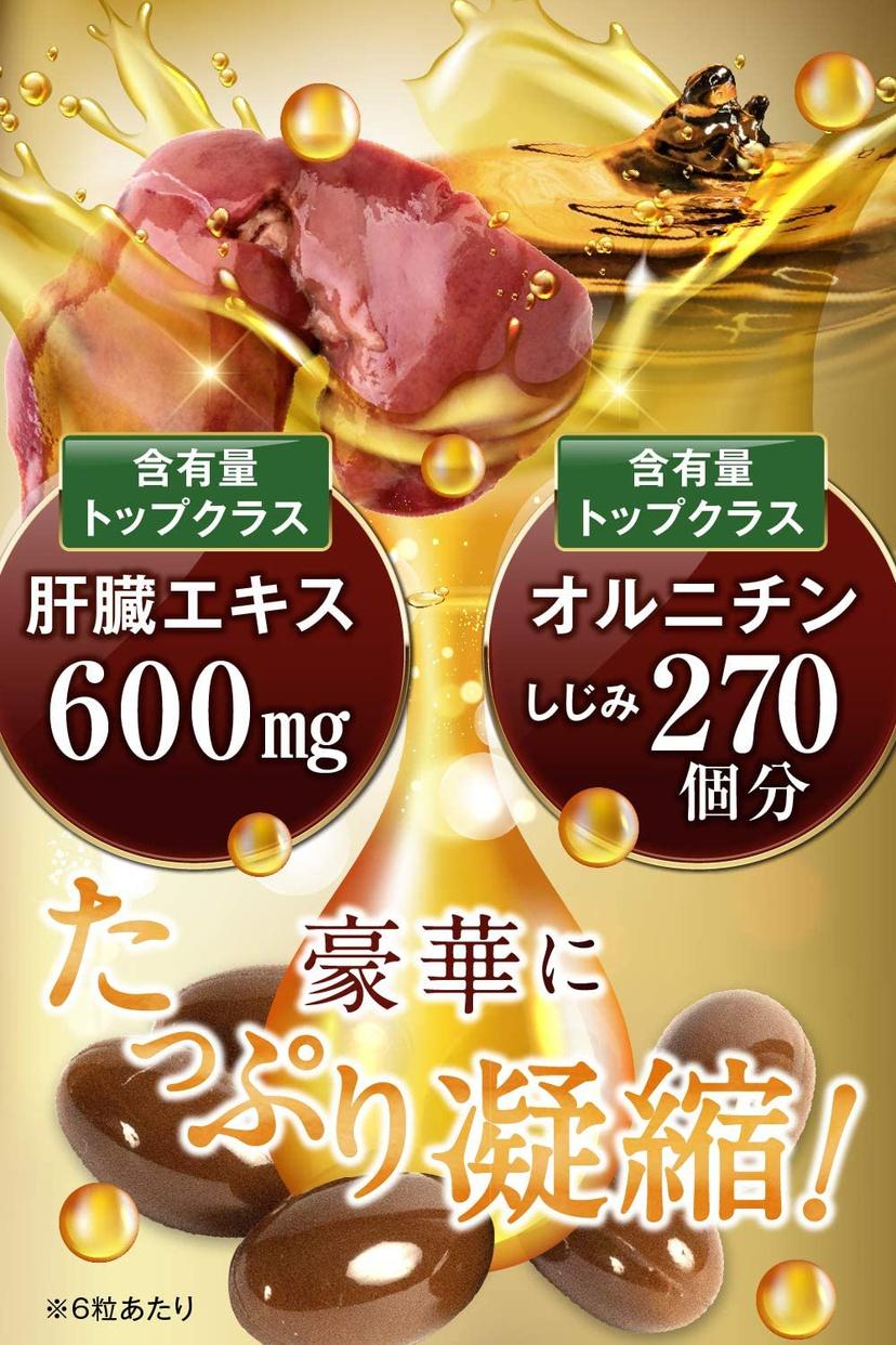 和漢 肝臓チャージ+オルニチンの商品画像5
