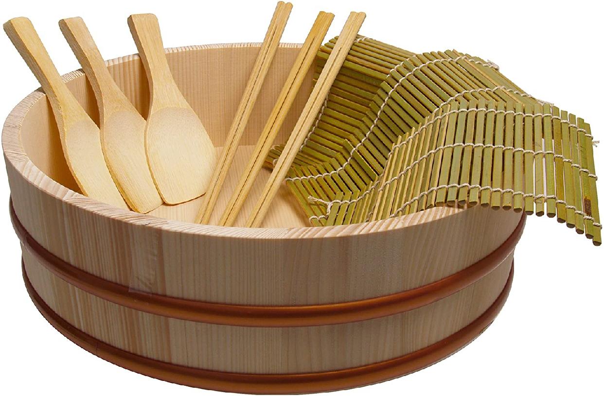 立花容器 寿司桶 手巻き寿司 セット 30cmの商品画像3