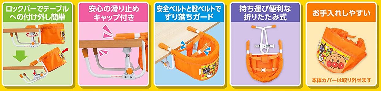 PINOCCHIO(ピノチオ) アンパンマン テーブルチェアーの商品画像3