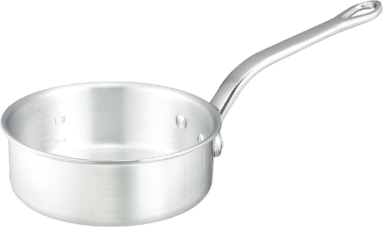 PRO CHEF(プロシェフ) アルミ 浅型片手鍋(目盛付)18cmの商品画像2
