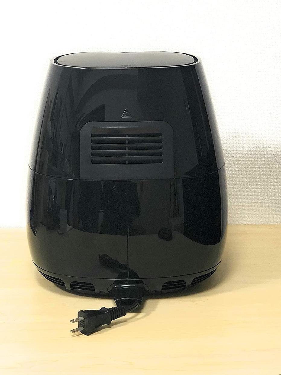Philips(フィリップス)ノンフライヤー HD9220/27 ブラックの商品画像2