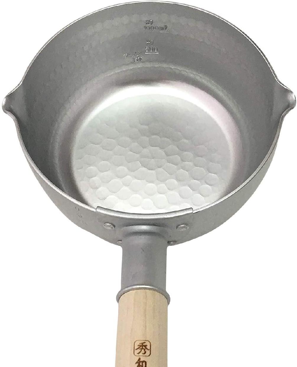 和の職人 ガス火 秀華ゆきひら鍋 深型ゆきひら鍋 18cm シルバーの商品画像5