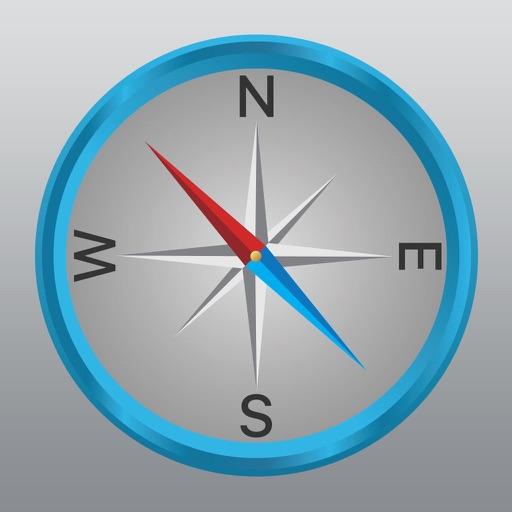 Ngo Na(エヌゴーエヌエー) デジタルコンパス