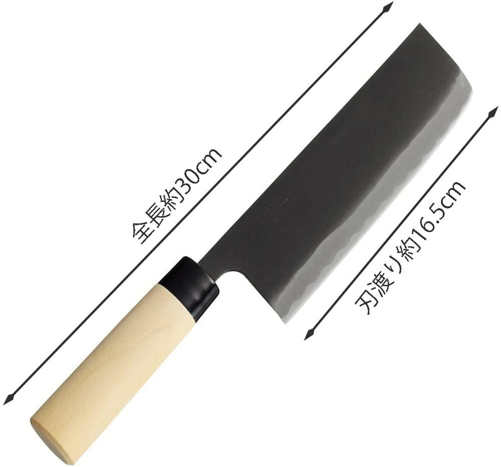 関孫六 銀寿本鋼 和包丁 菜切165mm西型 AK5210の商品画像3