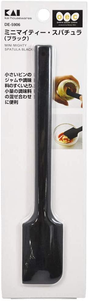 o.e.c.(オーイーシー) ミニ マイティー・スパチュラ(黒) DE5906の商品画像3