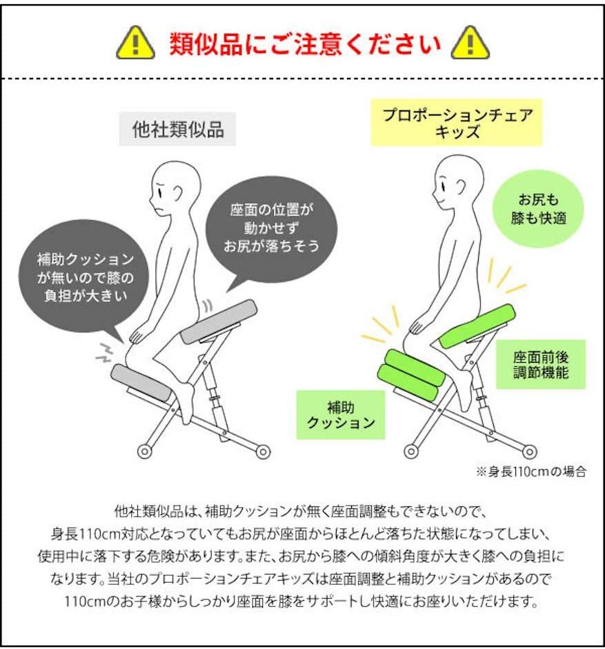 MIYATAKE(ミヤタケ) プロポーションチェアキッズ CH-889CKの商品画像6