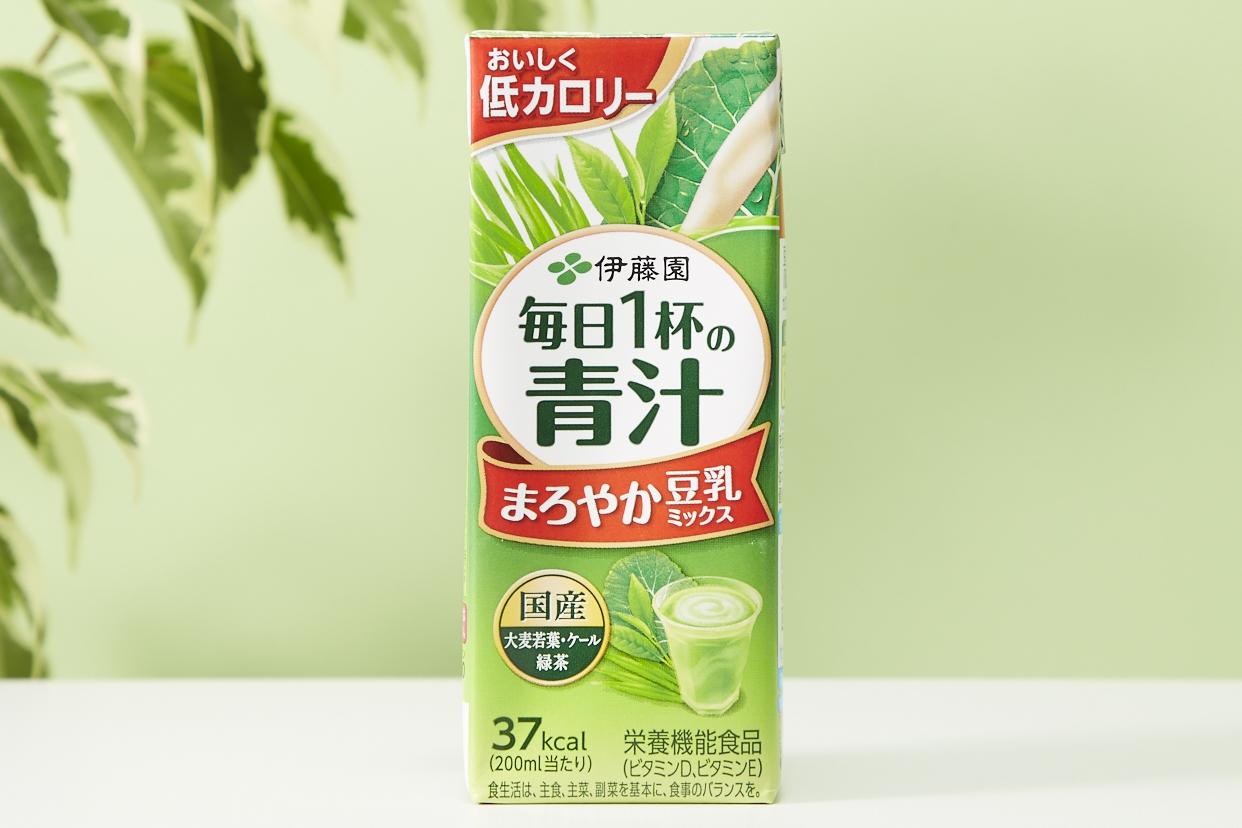 伊藤園(イトウエン) 毎日1杯の青汁 まろやか豆乳ミックス 紙パック