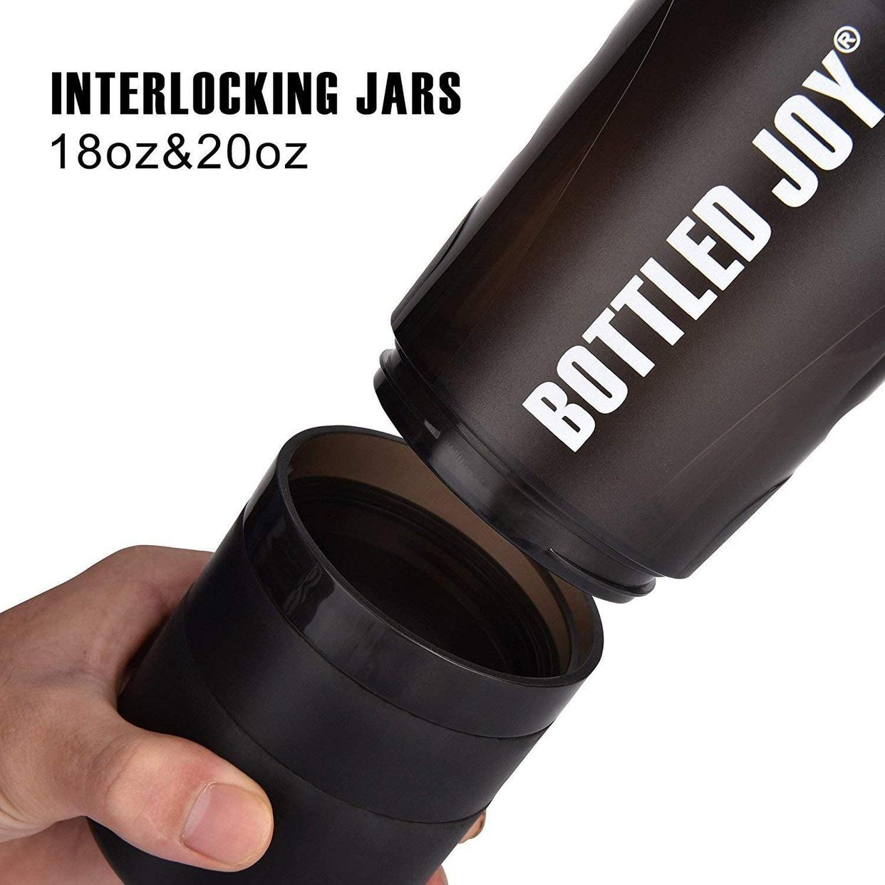 BOTTLED JOY(ボトルジョイ) プロテイン シェイカー FS-B001Bの商品画像4