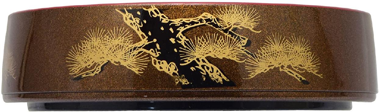 高儀 寿司桶梨地老松  1人7寸の商品画像2