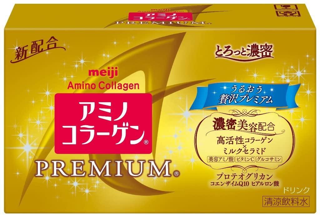 明治(meiji) アミノコラーゲンプレミアムドリンクの商品画像