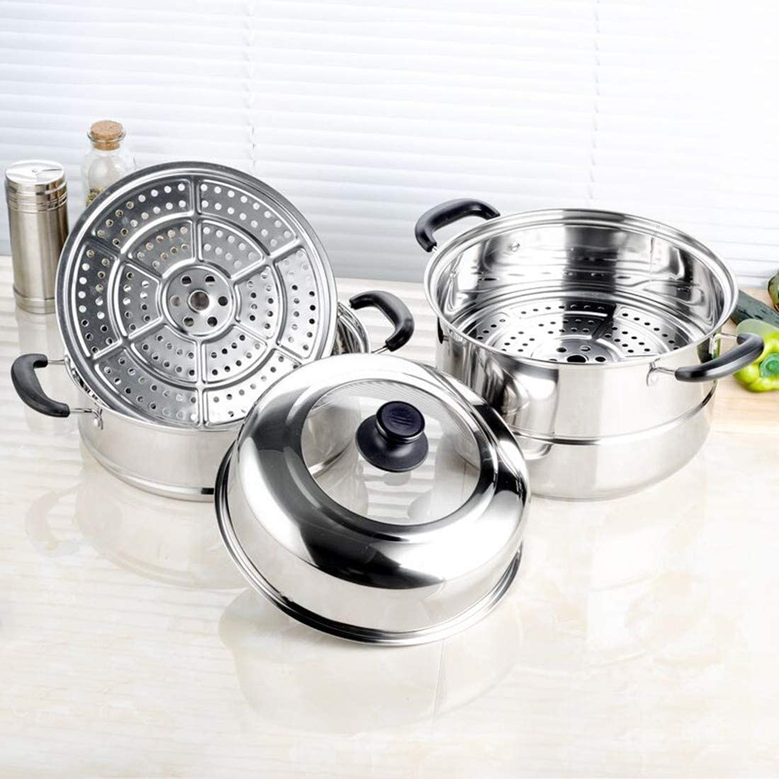 Minsell 蒸しもの鍋の商品画像5