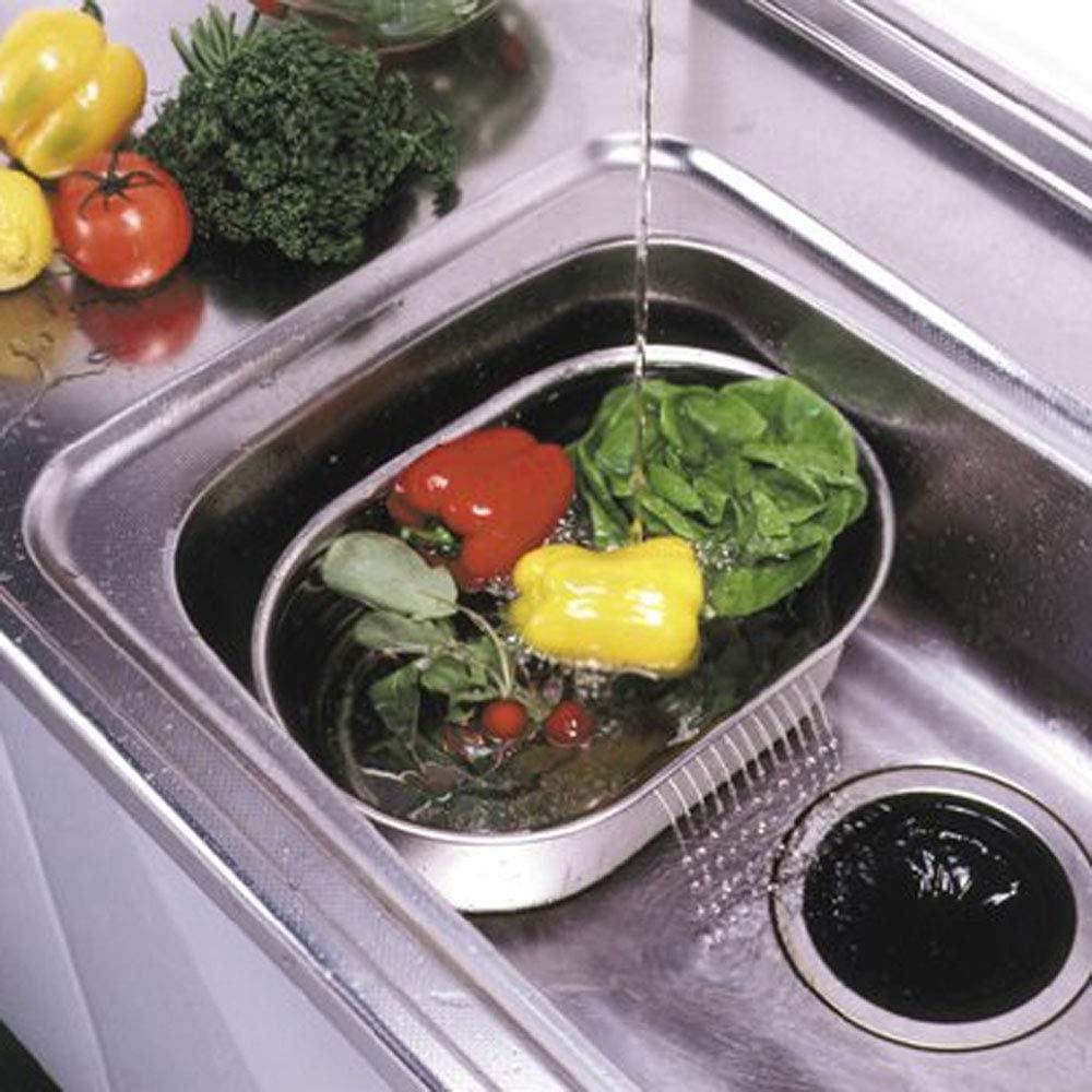 パール金属(PEARL) 洗い桶 小判型 脚高ゴム付 DZ1140 ステンレスの商品画像6