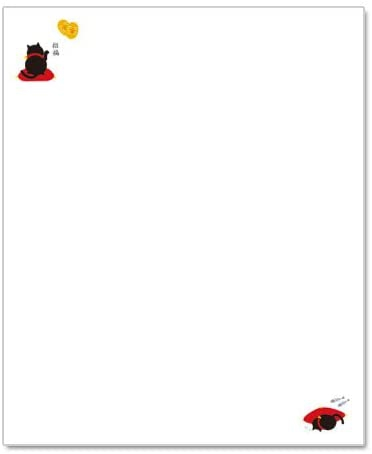 和詩倶楽部(ワシクラブ) 懐柄紙 招き猫 30枚  KG-044の商品画像2