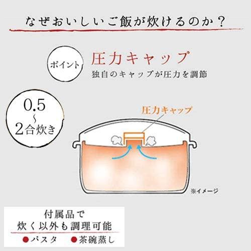 富士パックス販売 圧力弁でおいしく炊ける電子レンジ用炊飯器 FP-336の商品画像5
