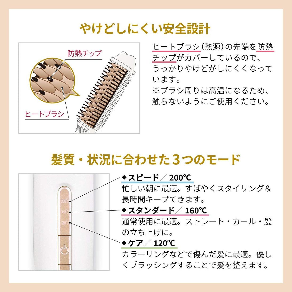 Onedam(ワンダム) コンパクトブラシアイロンの商品画像7