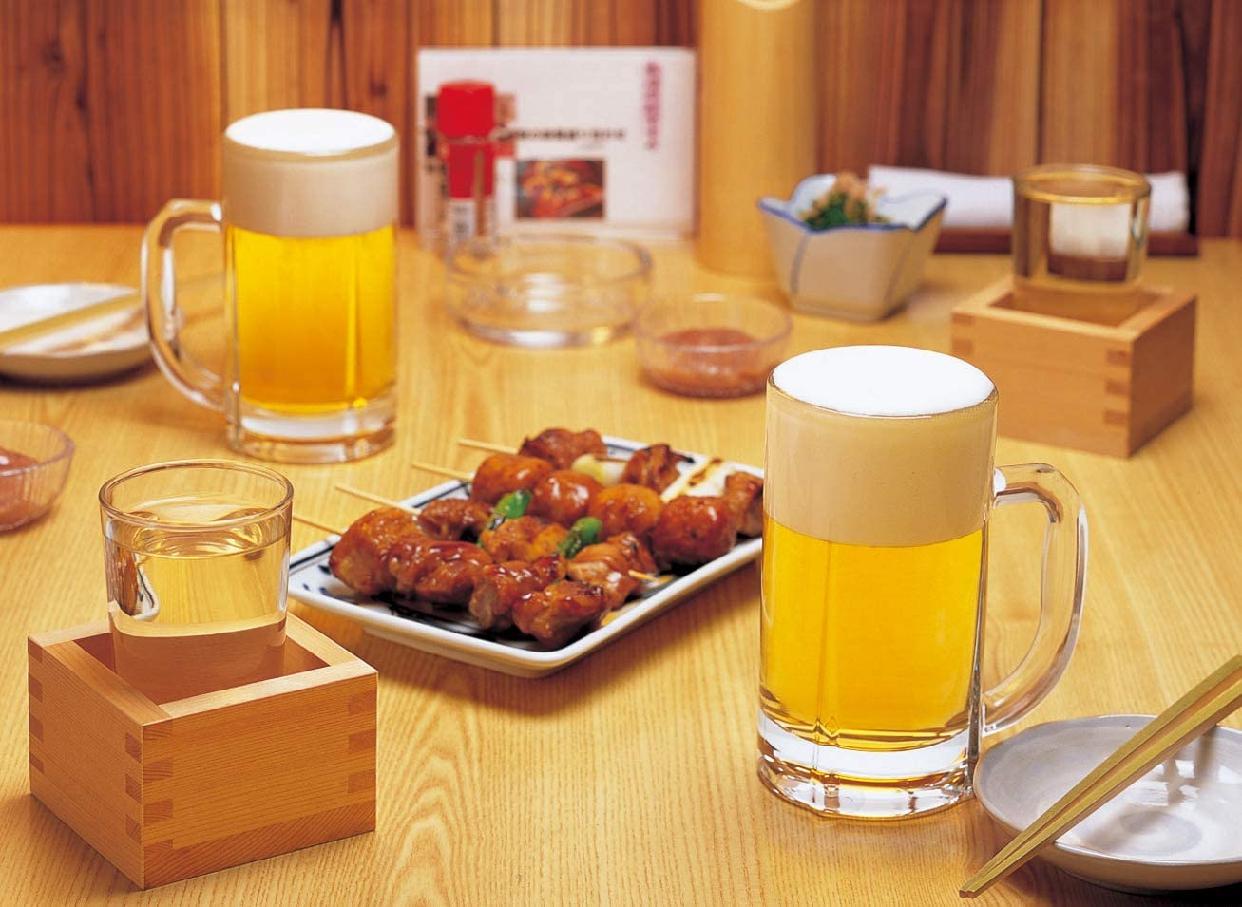 トウヨウササキガラス ビールジョッキ 340ml 55483の商品画像7