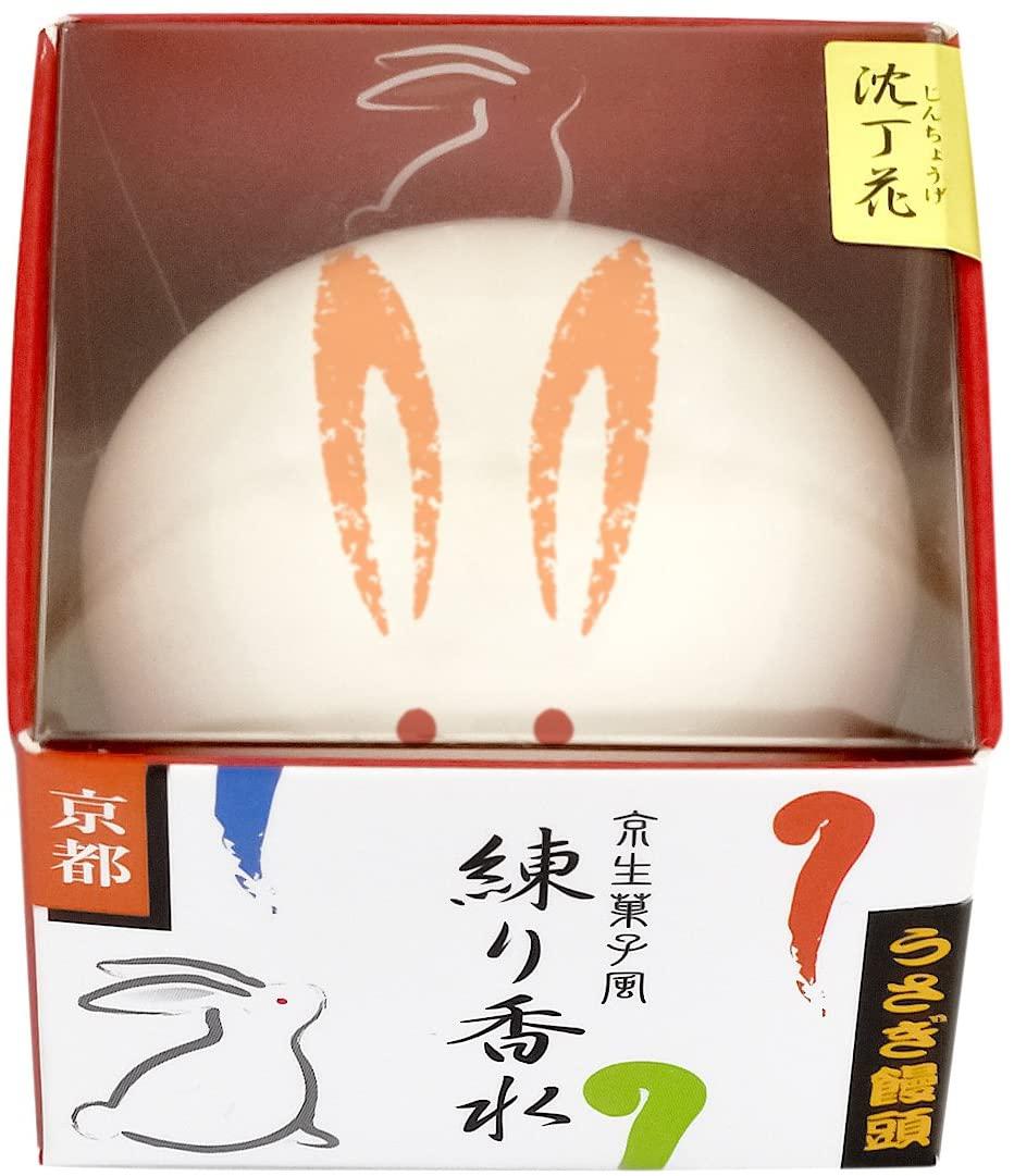 京都コスメ(きょうとこすめ)舞妓さん 練り香水 うさぎ饅頭の商品画像2