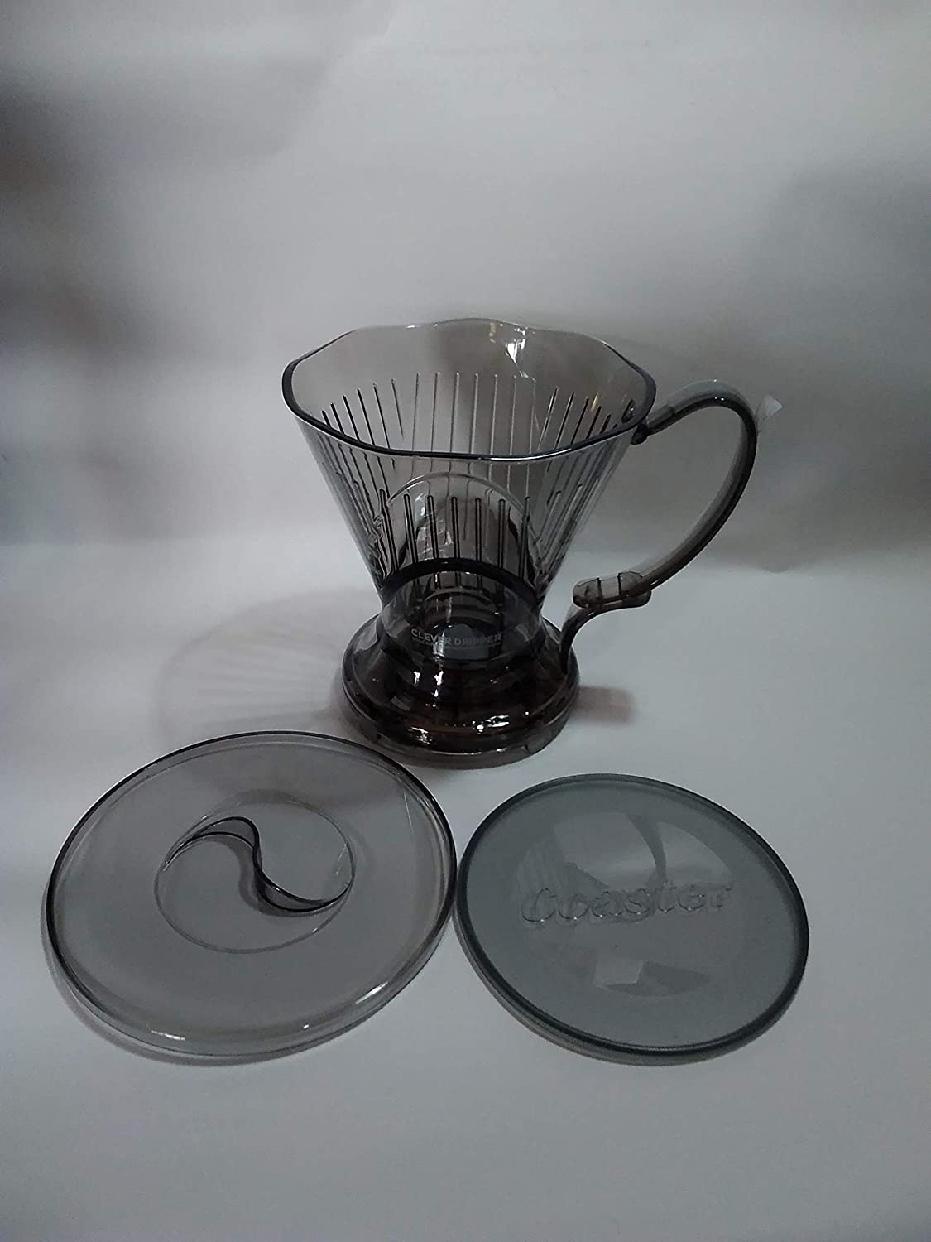 Clever(クレバー) コーヒードリッパー 半透明ブラック Lサイズの商品画像4