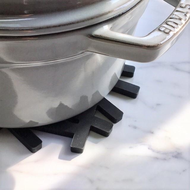 art of black(アートオブブラック) 鍋敷き 鳥の巣 枝 tree ブラック potstand-03001の商品画像4