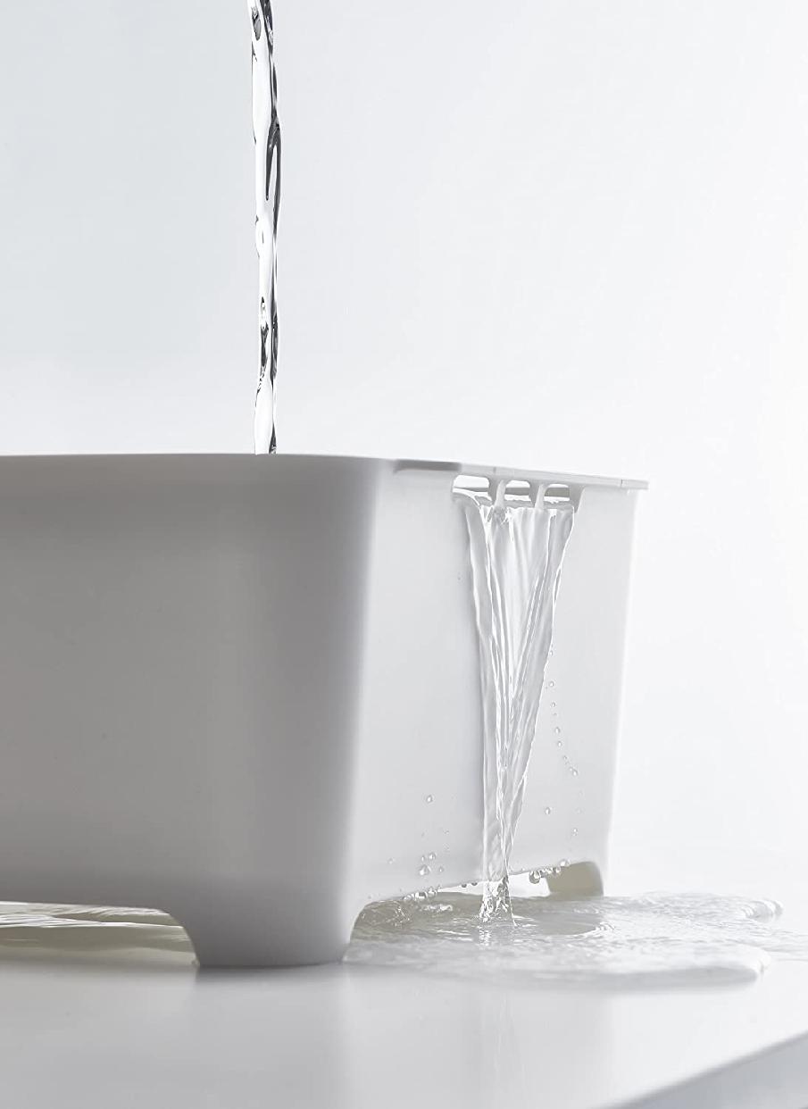 山崎実業(Yamazaki) 洗い桶 タワー 3591 ホワイトの商品画像5