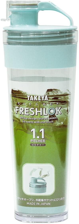 TAKEYA(タケヤ) フレッシュロックピッチャー 1.1Lミントの商品画像