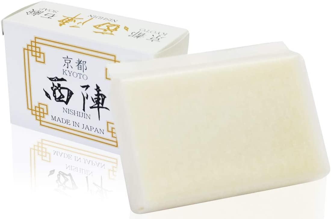 西陣石鹸(NISHIJIN SOAP) 洗顔用石鹸の商品画像