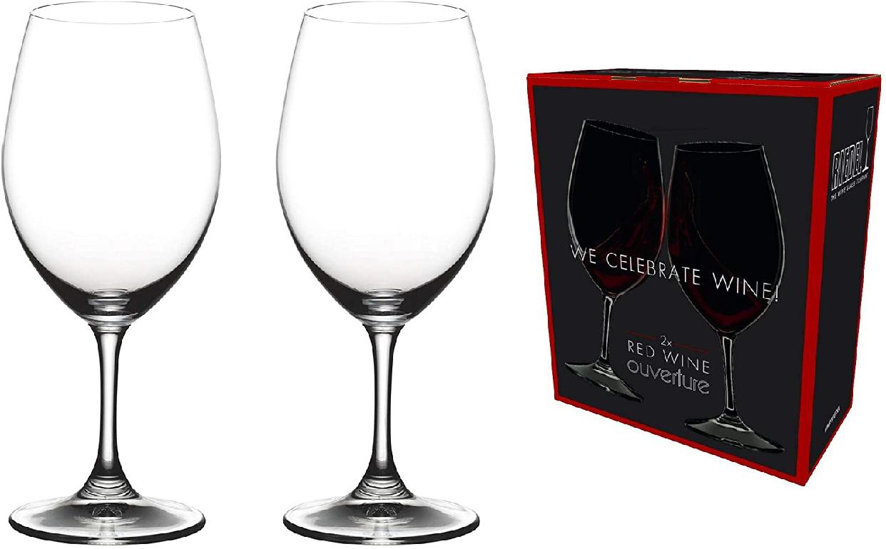 RIEDEL(リーデル) <オヴァチュア>レッドワイン(2個入) 6408/00 クリアの商品画像2