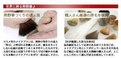匠の化粧筆コスメ堂(cosmedo) 熊野筆ノーマル洗顔ブラシ 細長峰100%(山羊毛) E-24Nの商品画像5