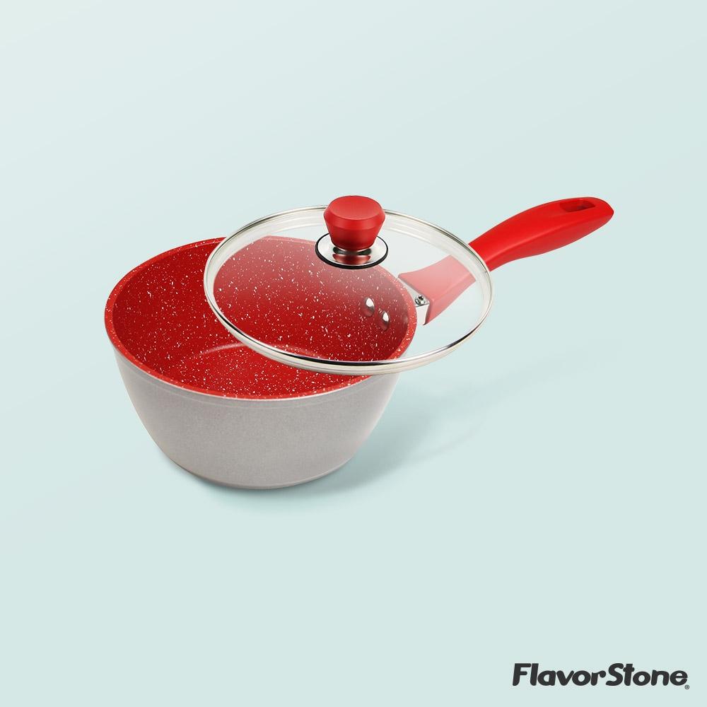 Flavor Stone(フレーバーストーン)16cmミルクパン 蓋付き T26005の商品画像