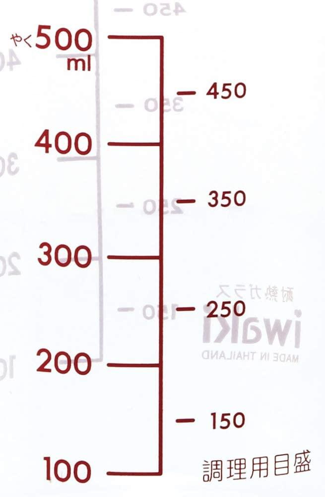 iwaki(イワキ) メジャーカップ(取手付き) 500ml KBT500Tの商品画像5